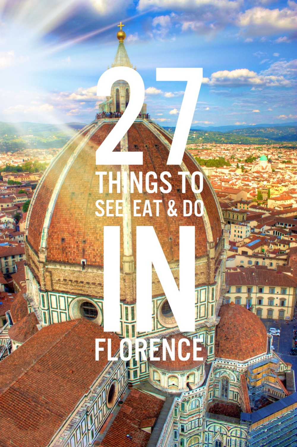 Florence city sun