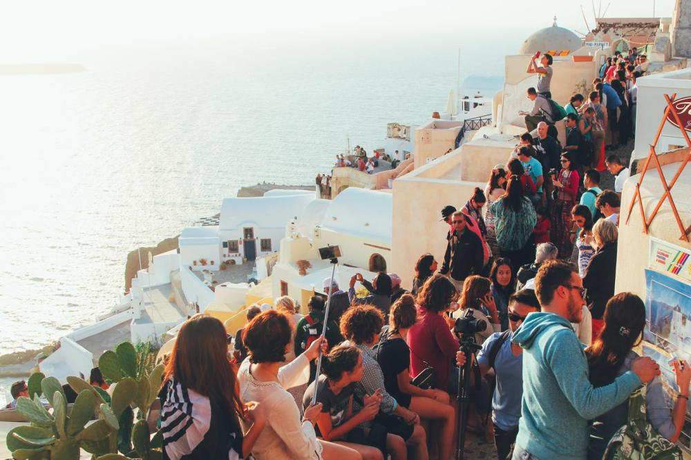 Sunrise To Sunset in Oia and Fira in Santorini, Greece! (18)
