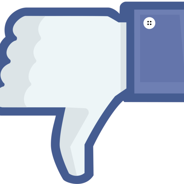 Facebook, Thumbs Down, Not Like, Unlike Button