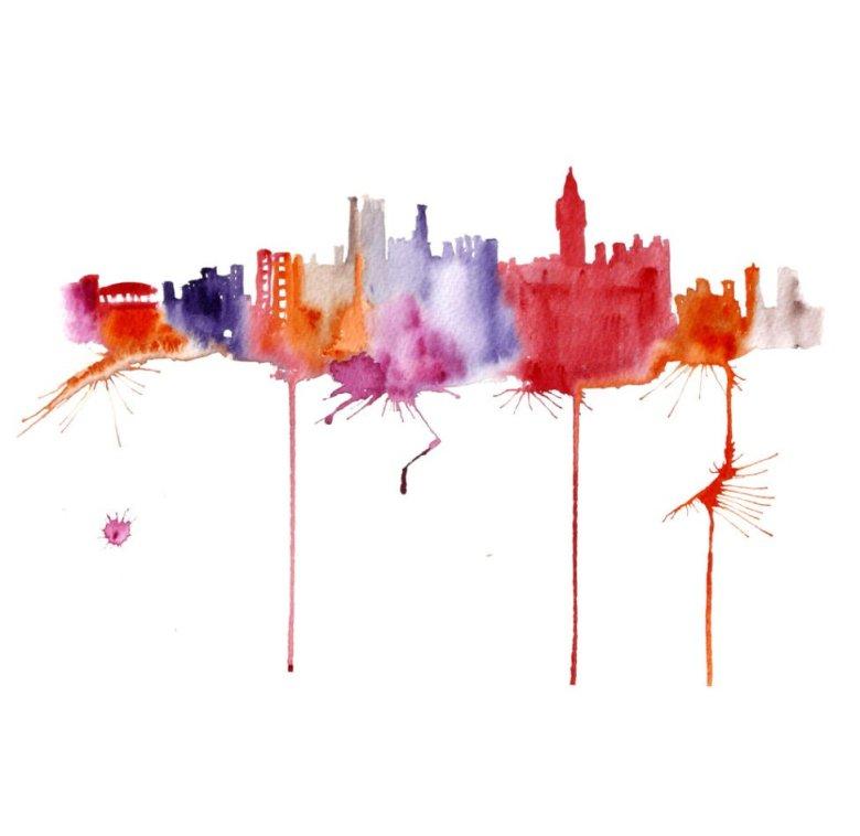 Watercolour Cities by Elena Romanova Artist (16)