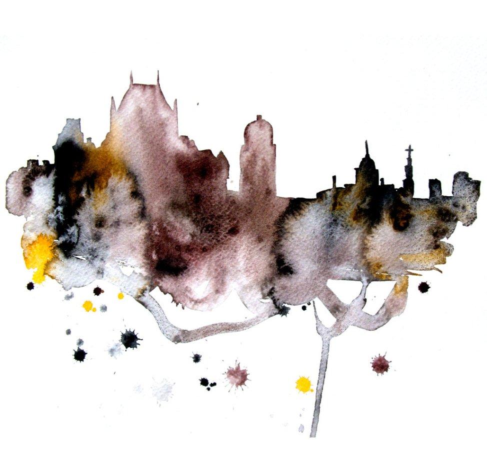 Watercolour Cities by Elena Romanova Artist (22)