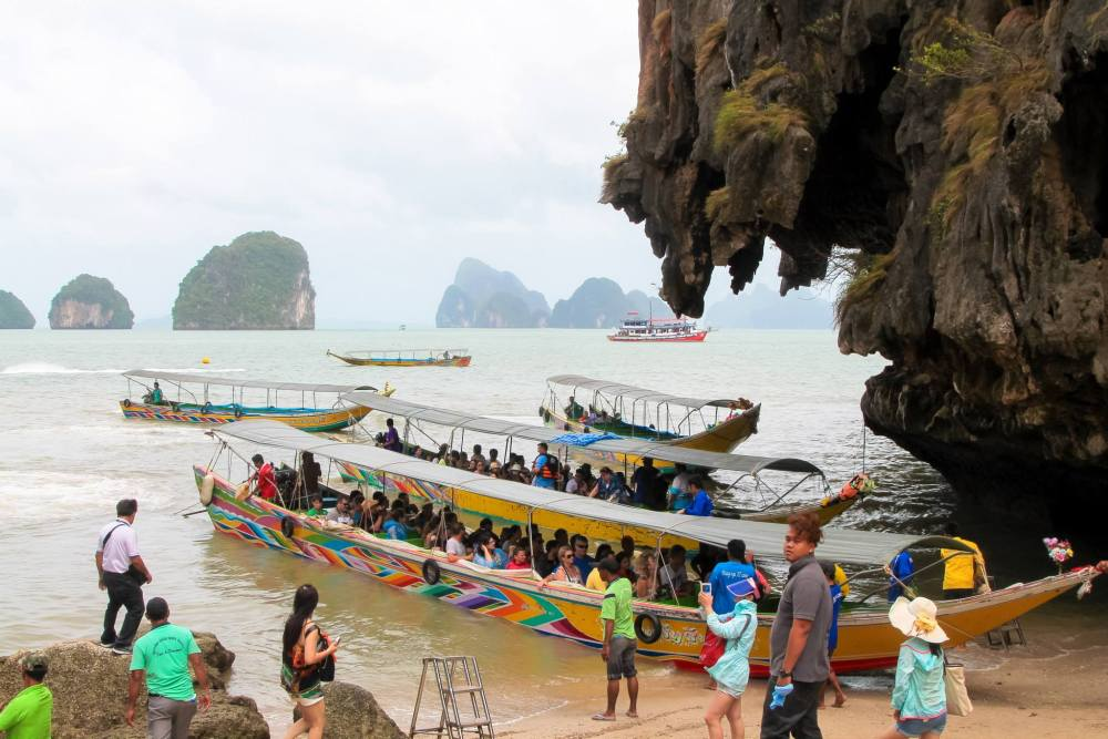 Things To Do When Sailing From Island To Island in Phang Nga Bay, Phuket, Thailand: The 2nd Part (13)