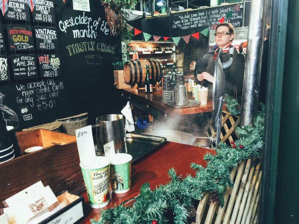 Hog Rolls and Hot Cider in Borough Market, London (15)