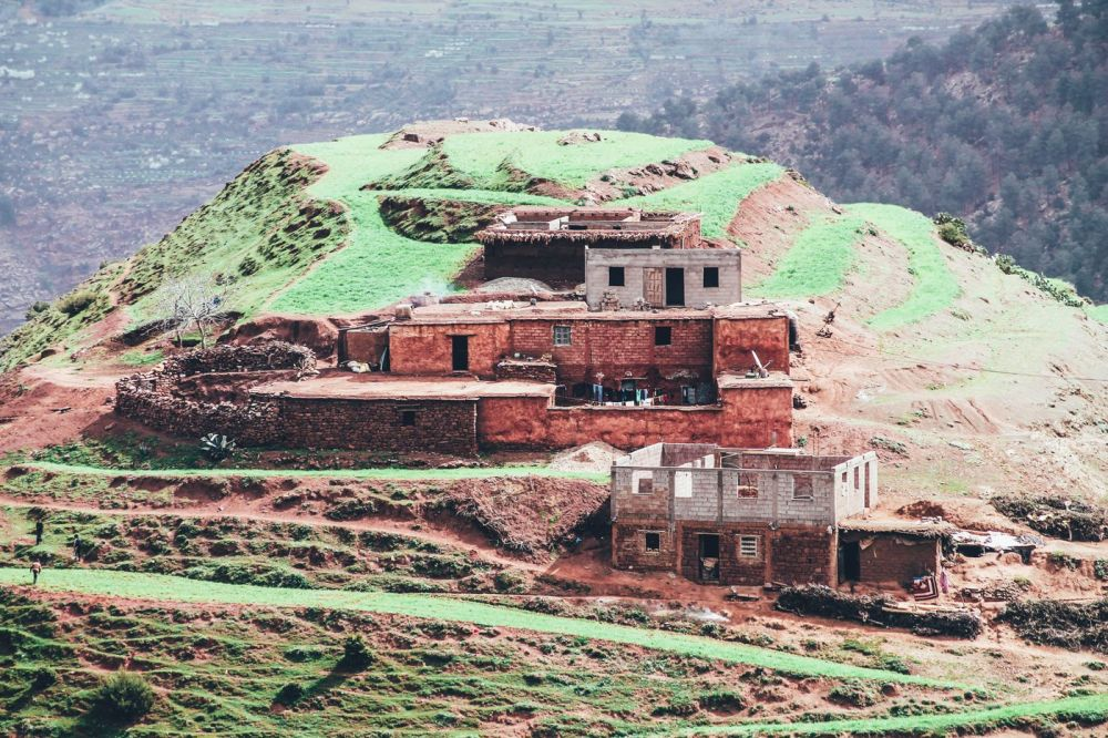 An Afternoon In A Berber Village in Morocco (7)