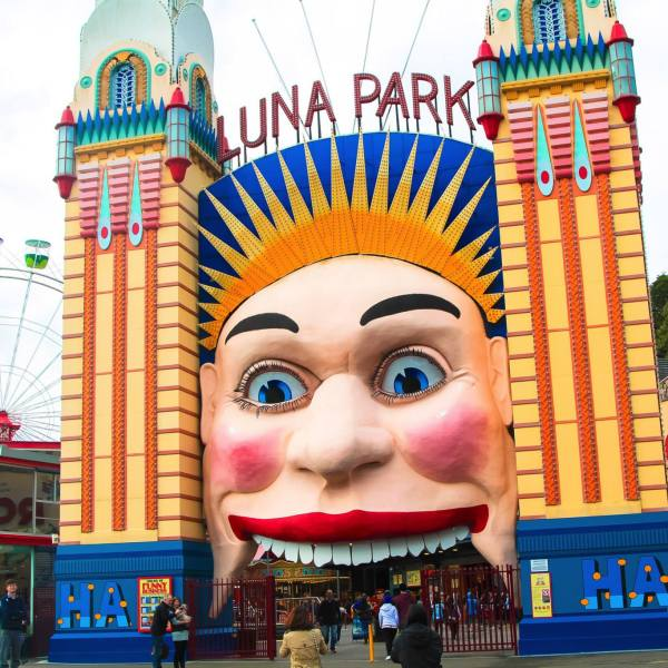 (FREE-ish) Things To Do In Sydney, Australia: Spend an afternoon in Luna Park! (6)