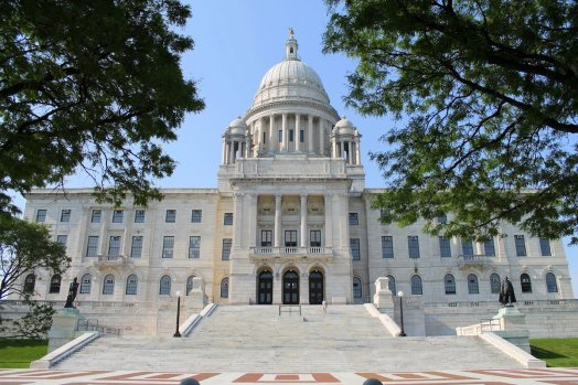 Gate-Crashing A Meeting In A Government State House… in Providence, Rhode Island, USA (14)