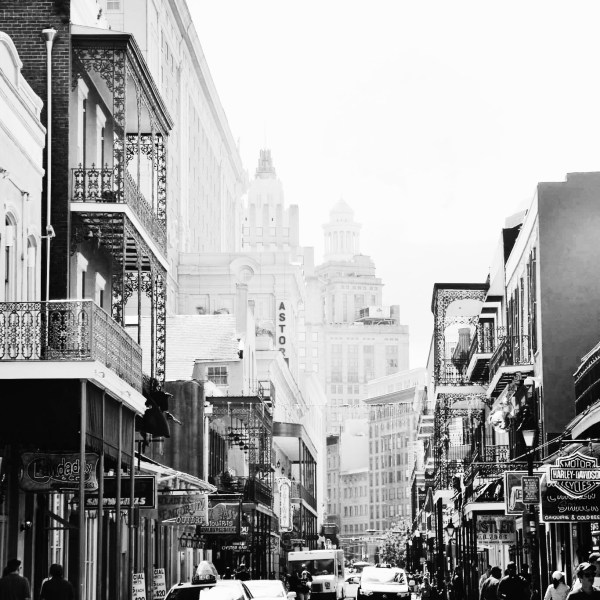 Black and White Photos of People & Places in New Orleans, Louisiana, United States Of America, USA (12)