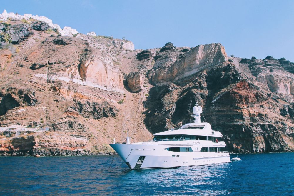 Conquering Volcanos in Santorini, Caldera, Sailing, Boat Trip, Greece (12)