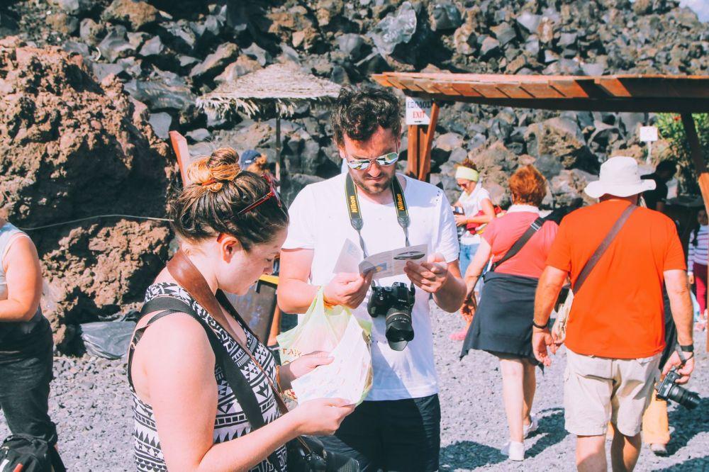 Conquering Volcanos in Santorini, Caldera, Sailing, Boat Trip, Greece (18)