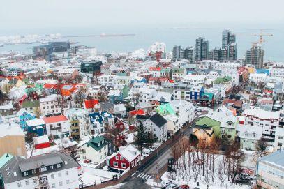 Afternoon in Reykjavik, Iceland Before Storm (14)