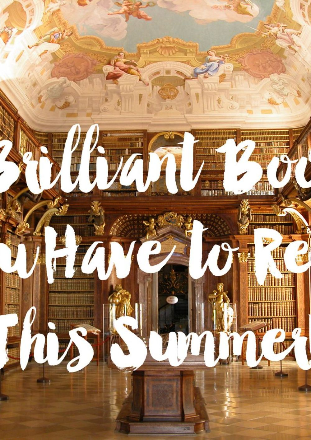 5 AMAZING BOOKS YOU PROBABLY HAVEN'T HEARD OF BUT HAVE TO READ THIS SUMMER!