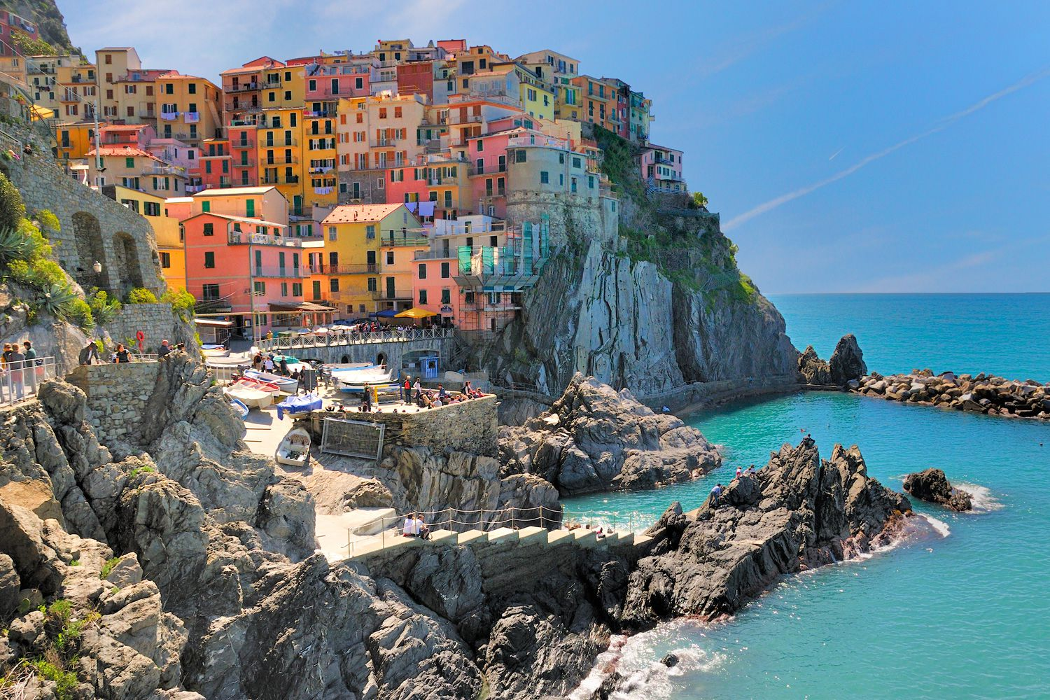 The Italian Riviera, Cinque Terre, Pisa and Florence... (1)