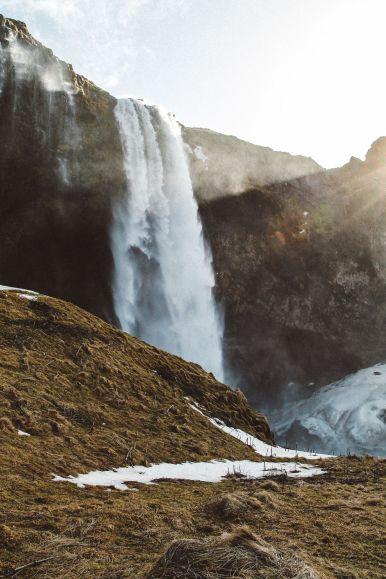 Seljalandsfoss and Skógafoss Waterfalls in Iceland plus Icelandic Lamb and rainbows (9)
