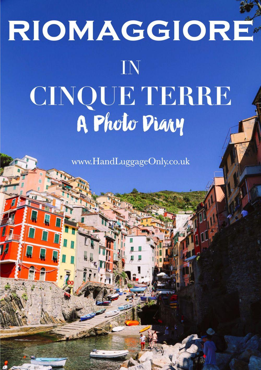 Riomaggiore in Cinque Terre, Italy - A Photo Diary