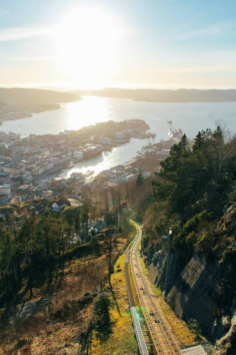 This Is The Best View In Bergen (And One Of The Best In The World)!!! Mount Fløyen and the Fløibanen funicular (10)