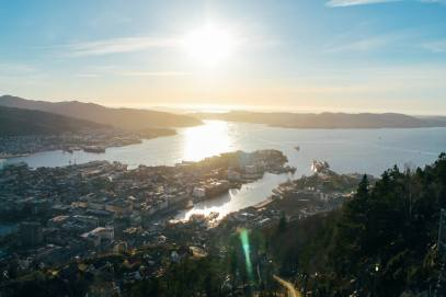 This Is The Best View In Bergen (And One Of The Best In The World)!!! Mount Fløyen and the Fløibanen funicular (9)