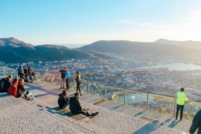 This Is The Best View In Bergen (And One Of The Best In The World)!!! Mount Fløyen and the Fløibanen funicular (7)