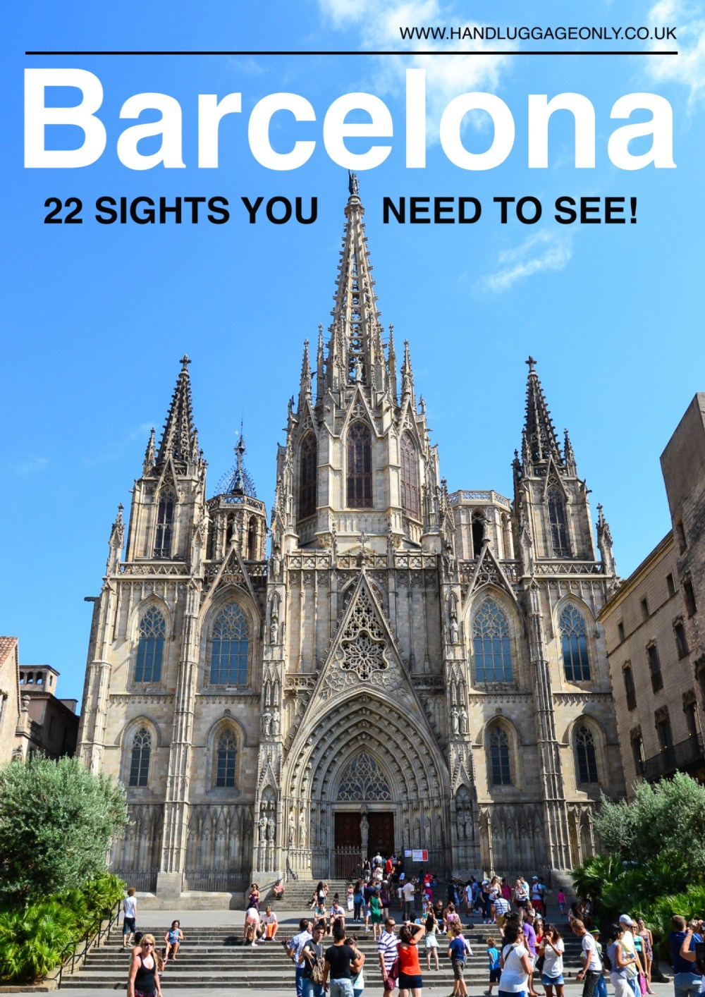 22 Sights You Have To See When You Visit Barcelona, Spain...