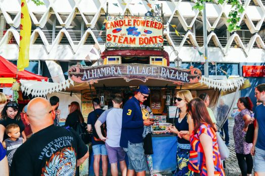 The Harbour Festival, Banksy, Steam Trains & The Girl With The Pierced Ear Drum... in Bristol, UK (51)
