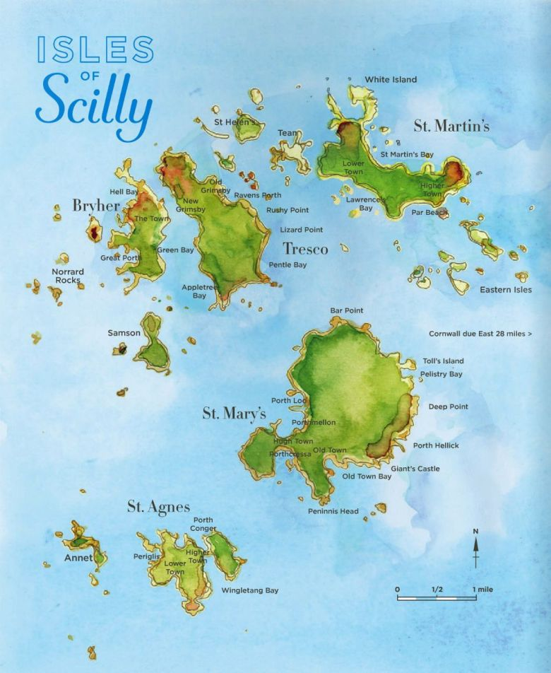 The Isles of Scilly (2)