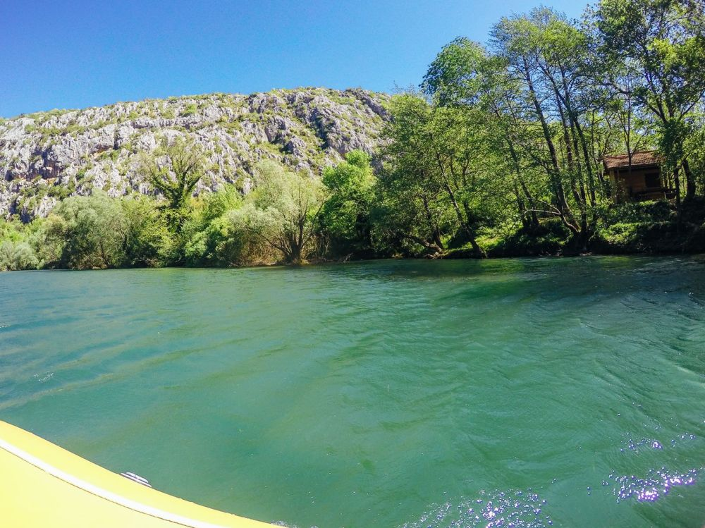 White Water Rafting On The Cetina River... In Croatia (22)
