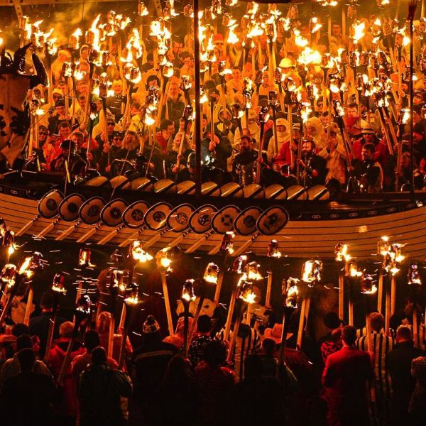 How To See An Authentic Viking Festival In Scotland (8)