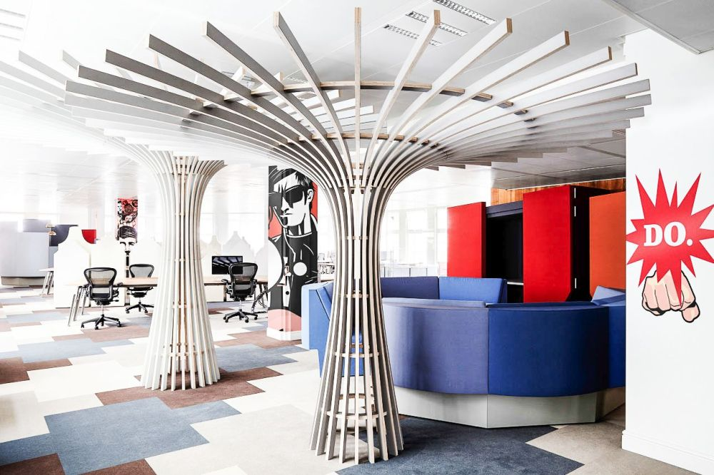 Ultra Cool Office Spaces That You Will Want To Work In (8)