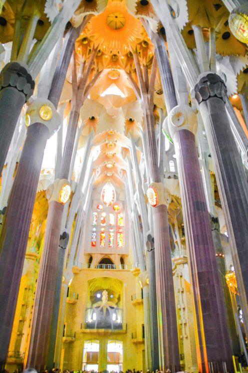 Boveda de la Iglesia Sagrada Familia