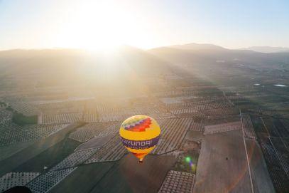Hot Air Balloon Sunrise... In Sierra De Mariola, Valencia (17)