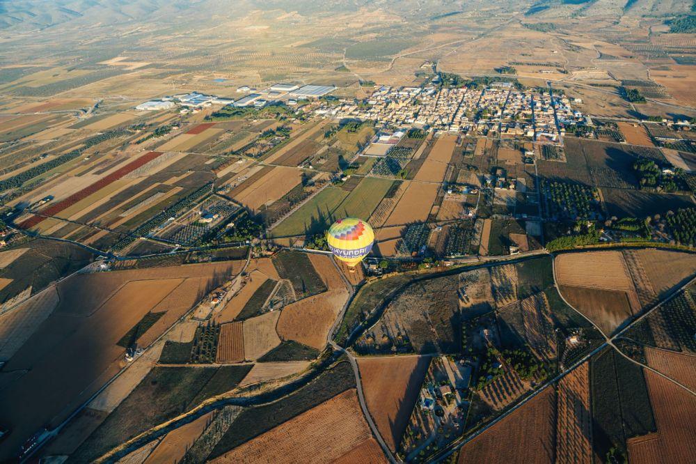 Hot Air Balloon Sunrise... In Sierra De Mariola, Valencia (20)