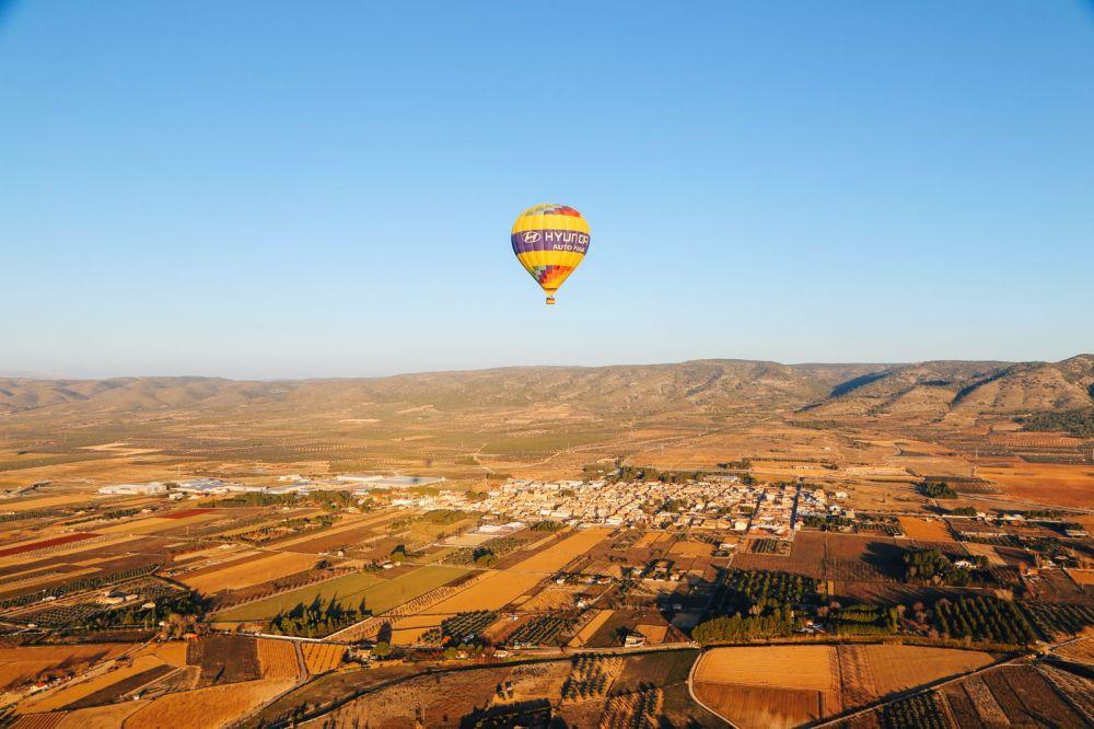Hot Air Balloon Sunrise... In Sierra De Mariola, Valencia (21)