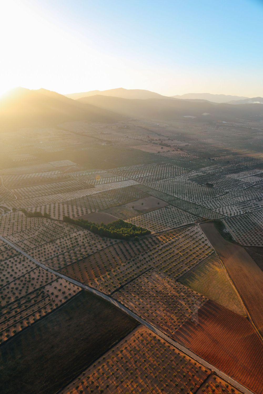 Hot Air Balloon Sunrise... In Sierra De Mariola, Valencia (24)