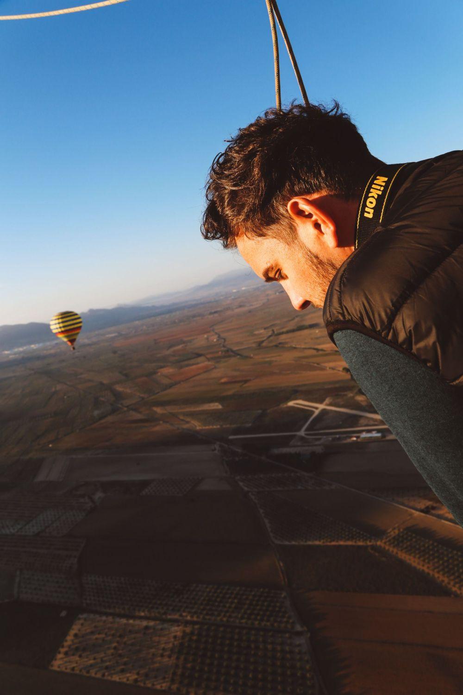 Hot Air Balloon Sunrise... In Sierra De Mariola, Valencia (25)