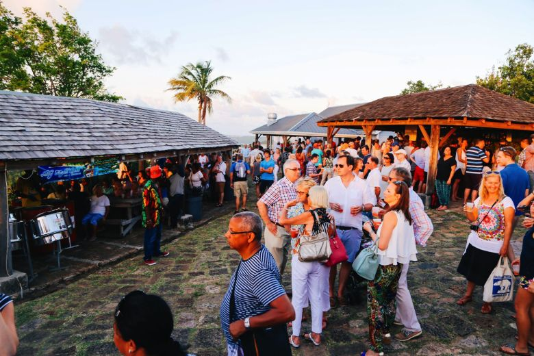 The Party (And Stunning Sunset) At Shirley Heights, Antigua (4)