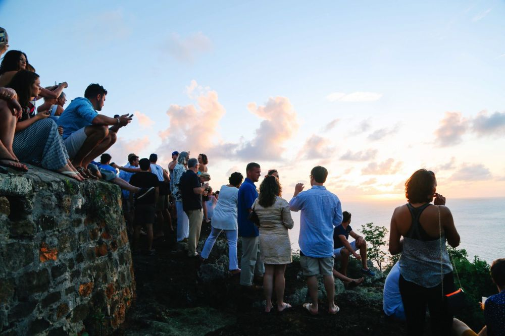 The Party (And Stunning Sunset) At Shirley Heights, Antigua (11)