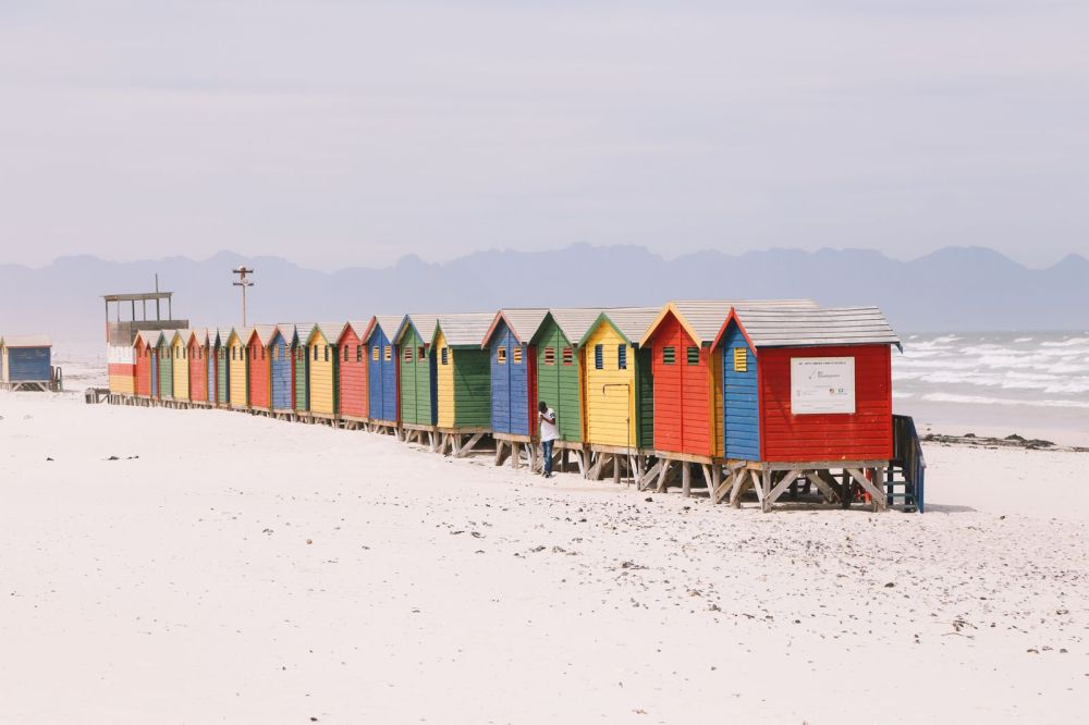 Photo Diary: Muizenberg Beach.... In Cape Town, South Africa (1)