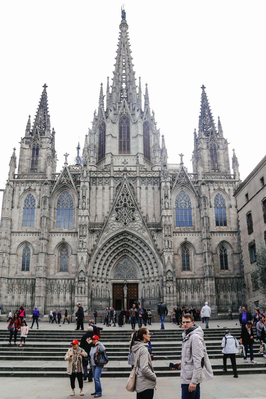 Arrival In Barcelona, Spain (1)