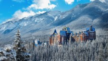 Amazing Sights In Banff Canada - Hand