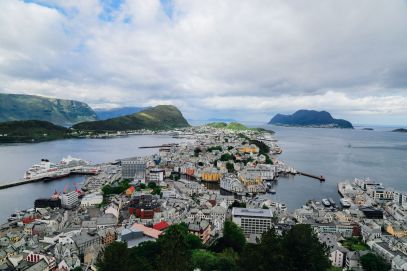 Arrival In Alesund, Norway - The Start Of Our Norwegian Road Trip! (16)