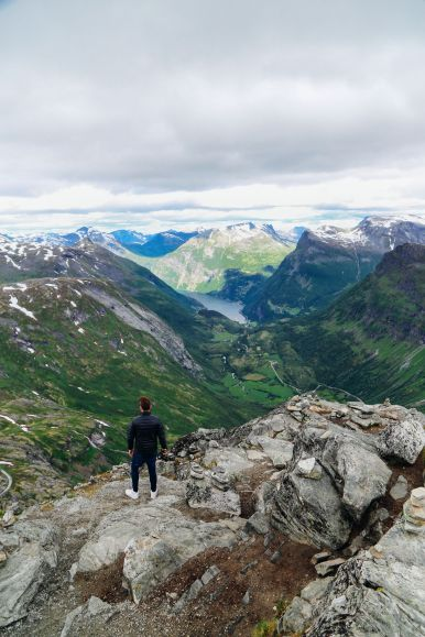 The Trek To The Highest Point In Geiranger, Dalsnibba...(And The Best View Of The Geirangerfjord) (32)