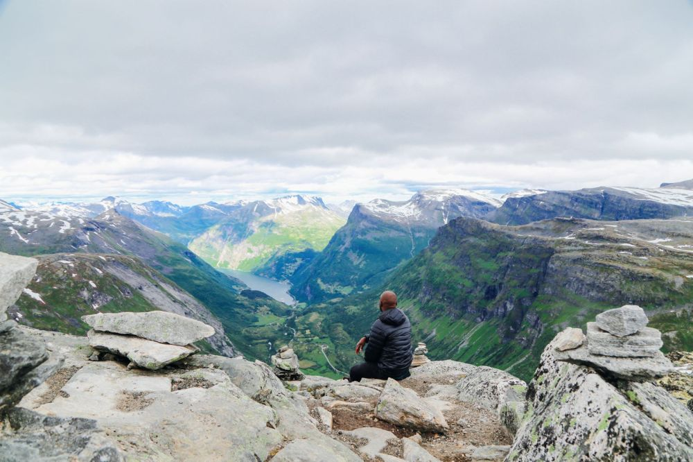The Trek To The Highest Point In Geiranger, Dalsnibba...(And The Best View Of The Geirangerfjord) (37)