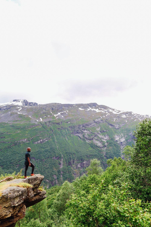 Exploring Storseterfossen Waterfall - A Waterfall In Norway You Can Walk Behind! (14)