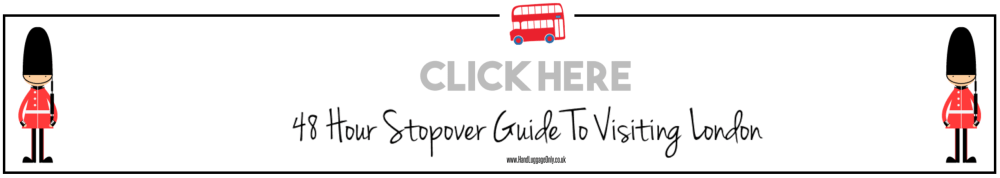 Stopover In London Visiting Guide