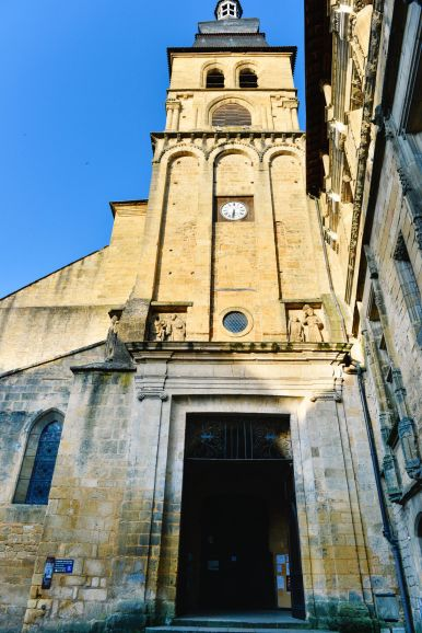 The Old Historic French Town Of Sarlat (2)