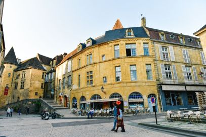 The Old Historic French Town Of Sarlat (14)