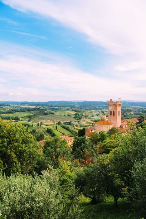 The Beautiful Tuscan Town Of San Miniato, Italy (8)