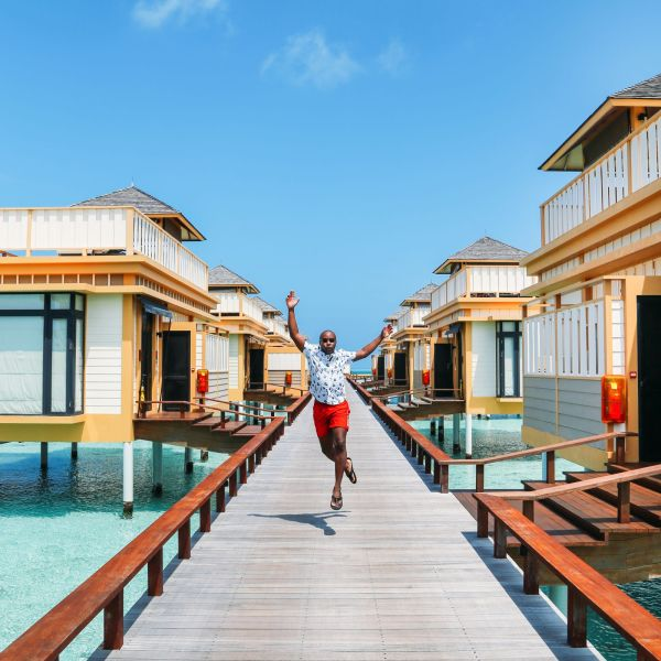 Hello From The Maldives - Angsana Velavaru In Ocean Water Villas (1)