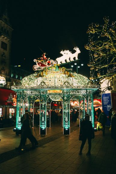 Christmas Market Fun In Hamburg, Germany… (2)