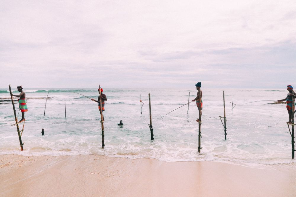 The Ancient Tradition Of Stilt Fishing… In Sri Lanka (22)