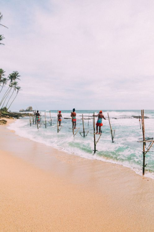 The Ancient Tradition Of Stilt Fishing… In Sri Lanka (23)